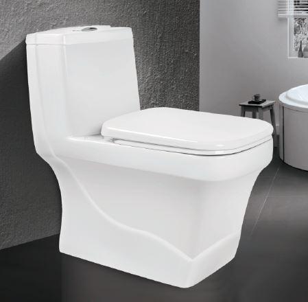 توالت فرنگی یک تکه